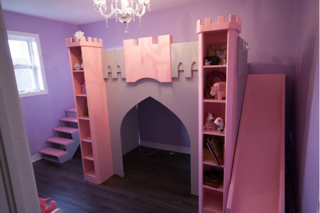 This princess castle bed is perfect for your very own little princess