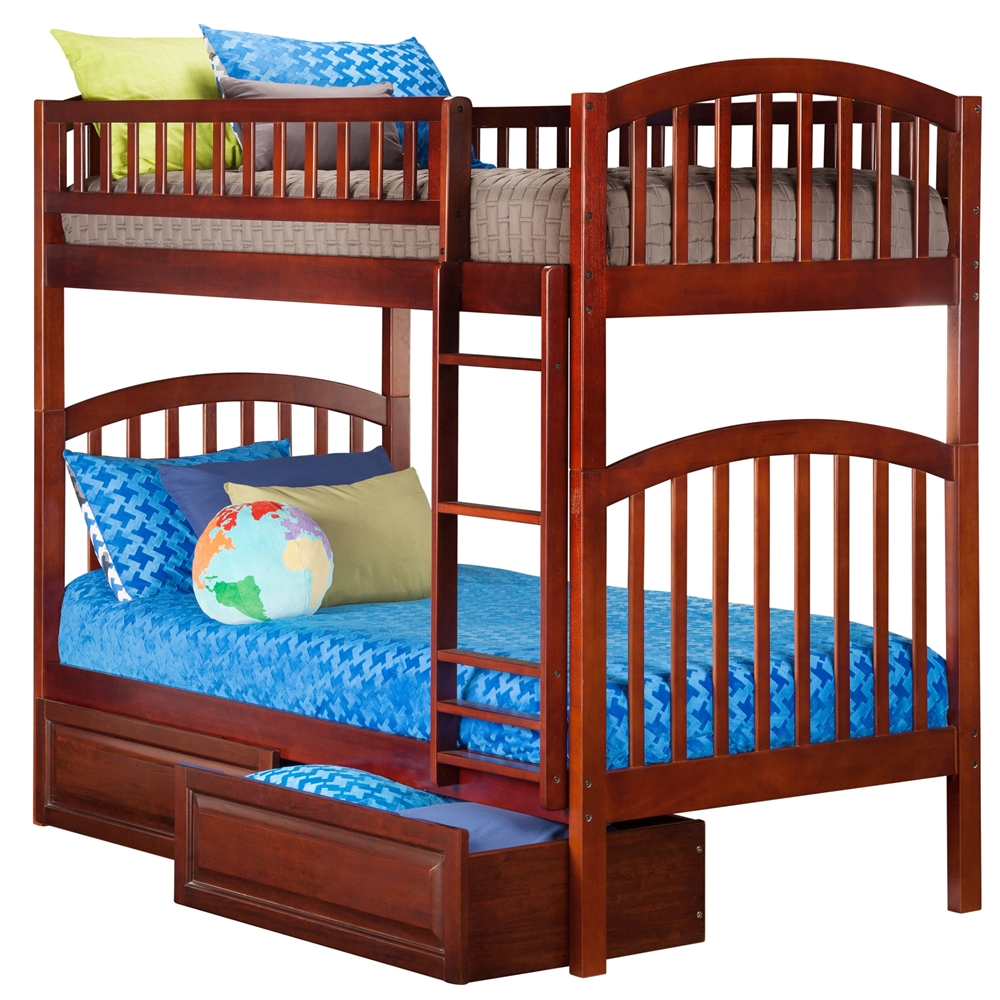 Atlantic Twin Bunk Bed Richland Trundle